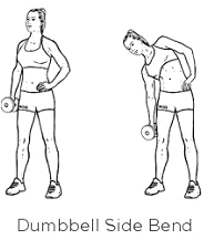 This requires weights, dumbbells or plates. Focus on the action of bending and straightening back up. Don't use your arms and shoulders to lift the weight.