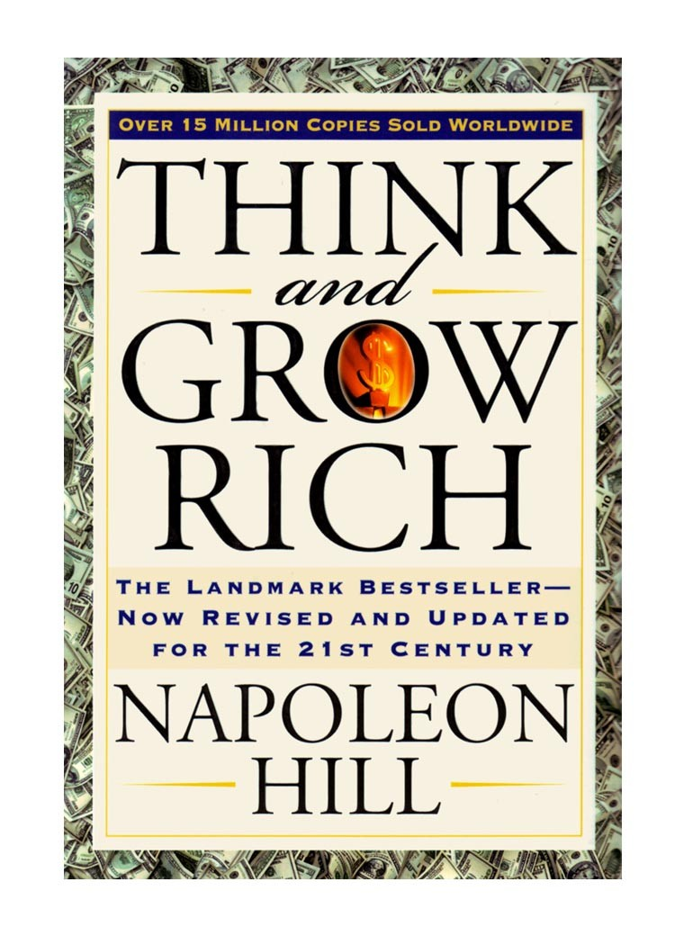 "Image result for Napoleon hill ""Think and grow rich"""