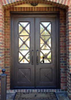 Ornamental Iron Doors - Your next home remodeling project...