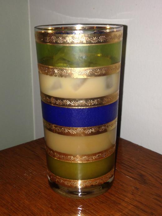 Vintage Culver Highball Glass