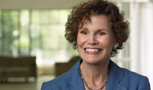The author: Judy Blume