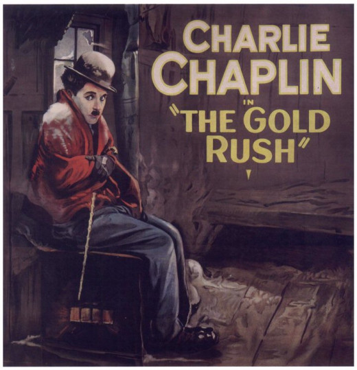 "Promotional artwork for ""The Gold Rush"""