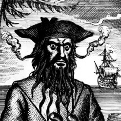 "Edward Teach ""Blackbeard""  - Pirate of the Seas"
