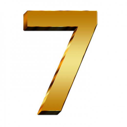 The number seven is a magical number in many societies.