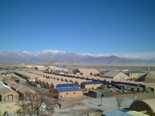 View Of Bagram.