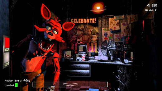 Foxy's jumpscare from the first game will always be my favorite