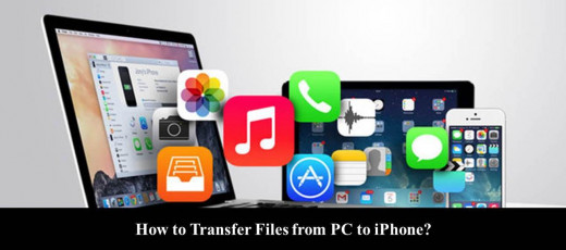 How to Transfer Files from PC to iPhone?