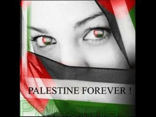 Poster Campaigning For A Free Palestine.