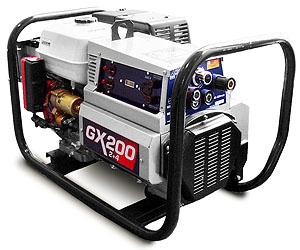 4000 Watt Gas Engine Welder