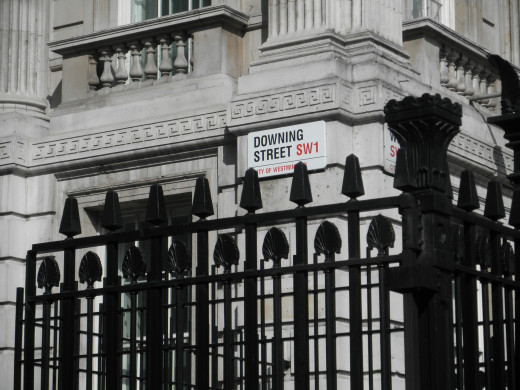 Image of Downing Street.