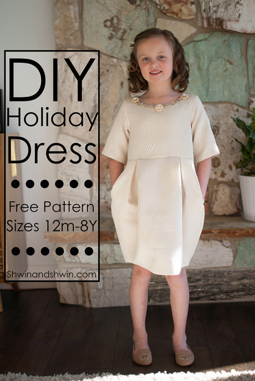 Holiday Dress Pattern
