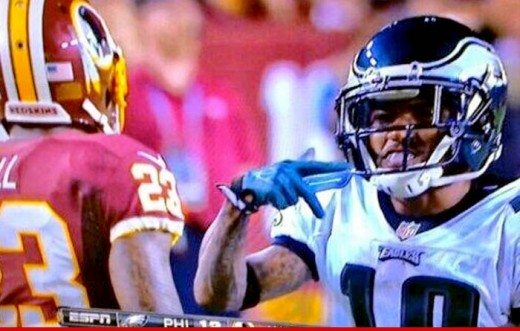 Remember when the Eagles had a threat at WR?