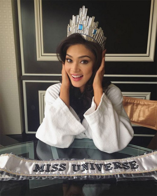 First Day as queen Miss Universe