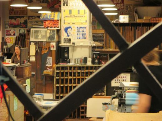 Hatch shop voyeurism