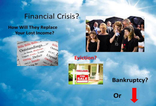 Would a sudden unexpected death plunge your family into a financial crisis?
