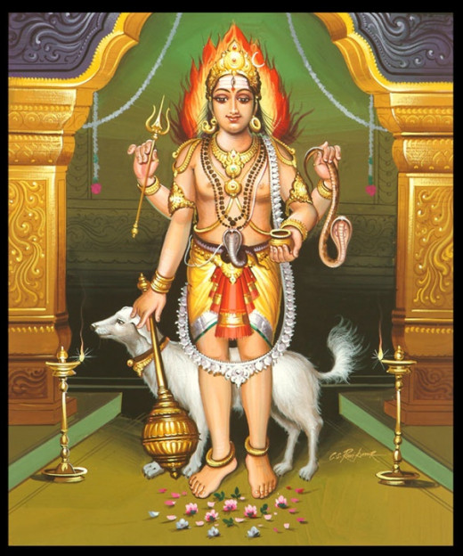 Hindu Destruction (guard) God Kalbhairav and his pet dog has presence in history since before BC Samwat.