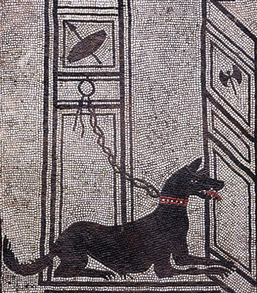 Presence of dogs in egyptian History since, dated to 2150-1400 BCE
