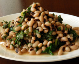 Eating Black Eyed Peas On New Years Eve