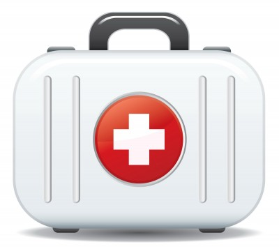 Keep a dog first aid kit handy for emergencies!