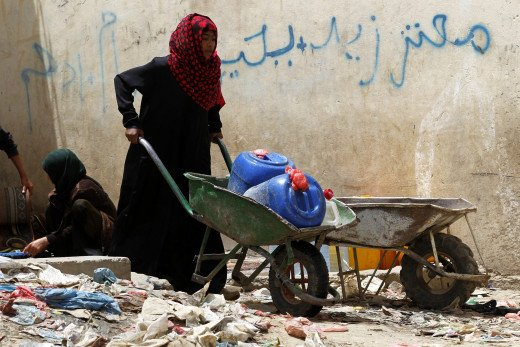 Females and Water Crisis in Yemen