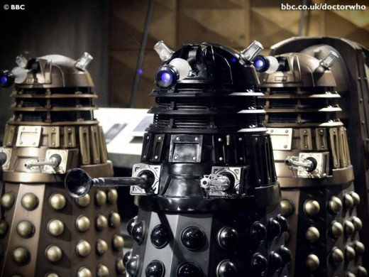 One Of The Doctor's Arch - Enemies:  The Daleks.