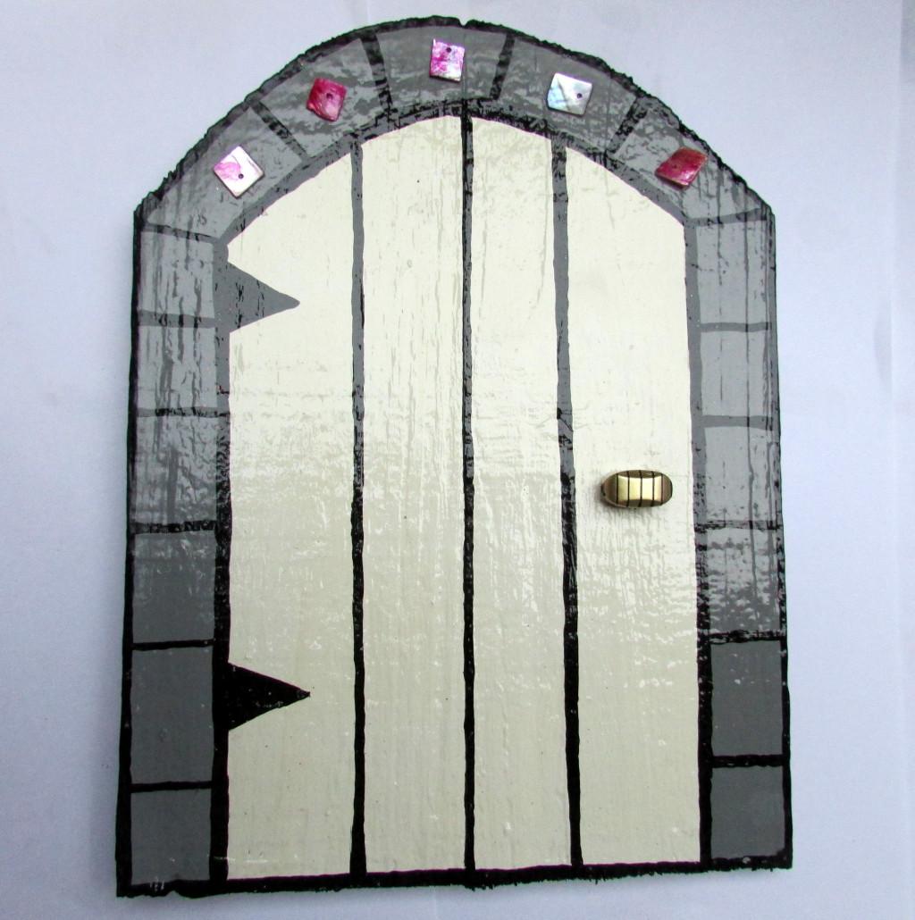 How to make a wooden fairy door for Make fairy door craft