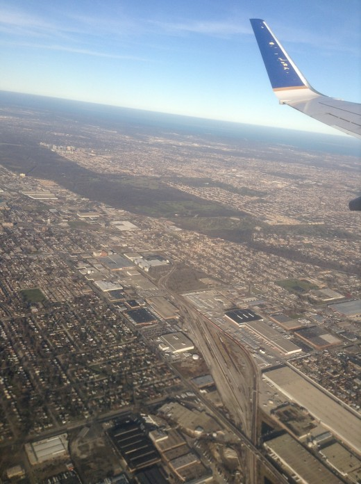 This is actually a picture from a TAKEOFF. Talk about off-topic huh? Still you'll be fine.