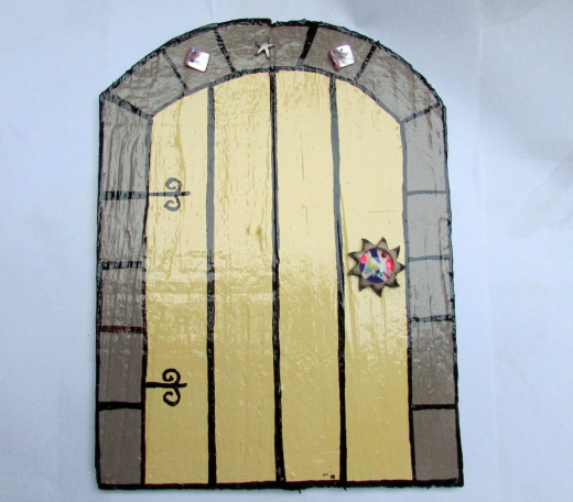 Fairy Door On the Wall