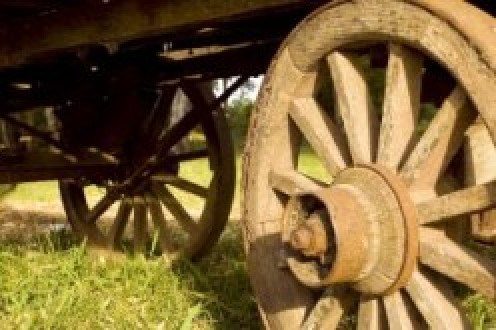 Weston Wooden Wagon Wheel