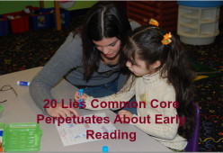 Why Do Prominent Leaders in Early Childhood Education Denounce the Common Core Standards?