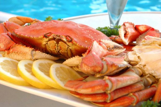 Baltimore dungeness  crabs