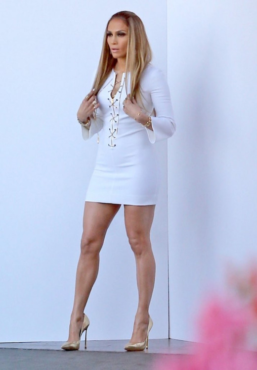 Jennifer Aniston and her stunning legs