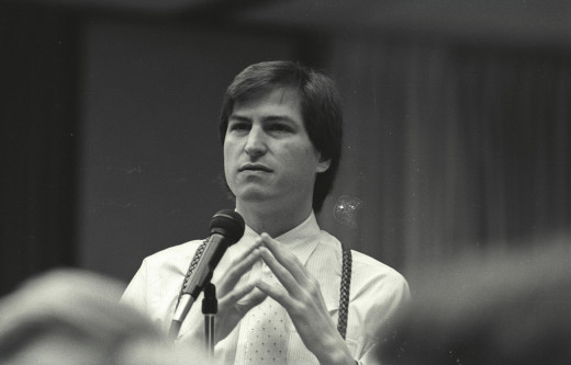Steve Jobs in thought