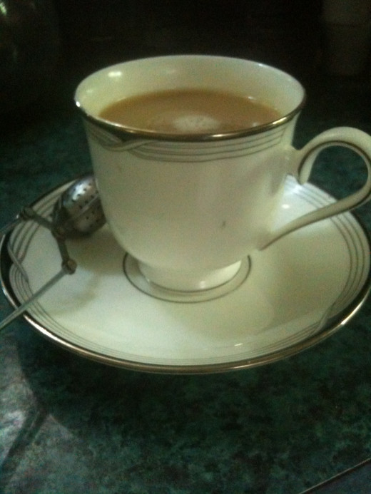 Making a cup of tea can be an amazingly magical act.