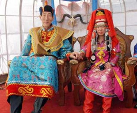 Mongolian Traditional Wedding