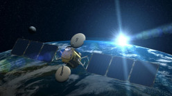 How Is A Satellite Sent To Space