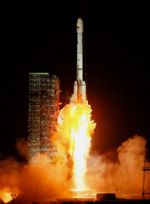 A Satellite Launch