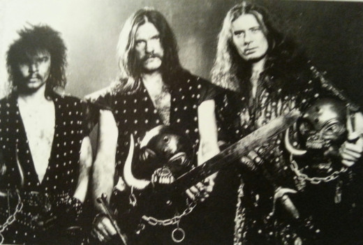 """Iron Fist"" lineup circa 1982"