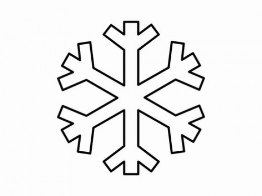 royalty free clipart snow flake
