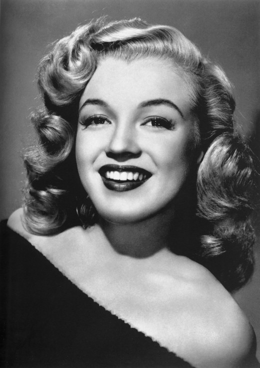 Here's a famous orphan we know as Marilyn Monroe.