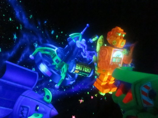 Magic Kingdom - Stuck on Buzz Lightyear's Space Ranger Spin Ride (for the 2nd time)