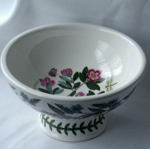 Bowl in the Botanic Garden pattern by Portmeirion