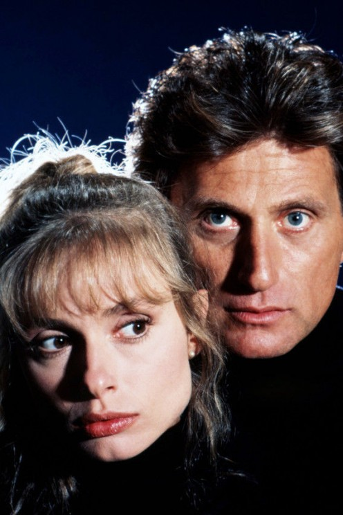 A nice publicity photo of Joe Cortese and Maryam D'Abo
