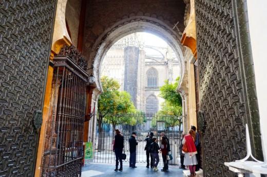 Entrance to the Alcazar