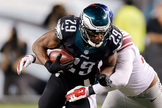 Maybe Eagles RB DeMarco Murray will have his 2nd good game of the season against the Giants