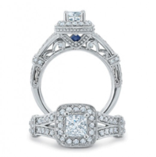 Hidden details drive up the cost of your ring! Plus, they won't be as visible once you put on that wedding band.