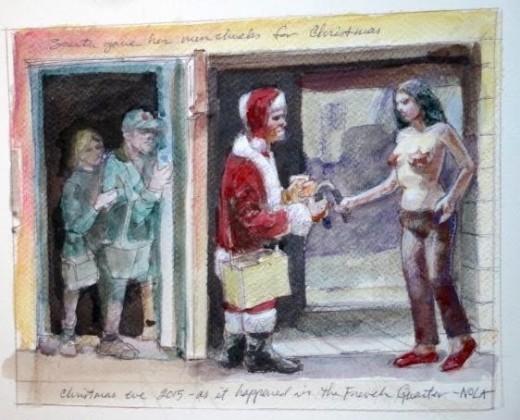 Nunchucks from Santa