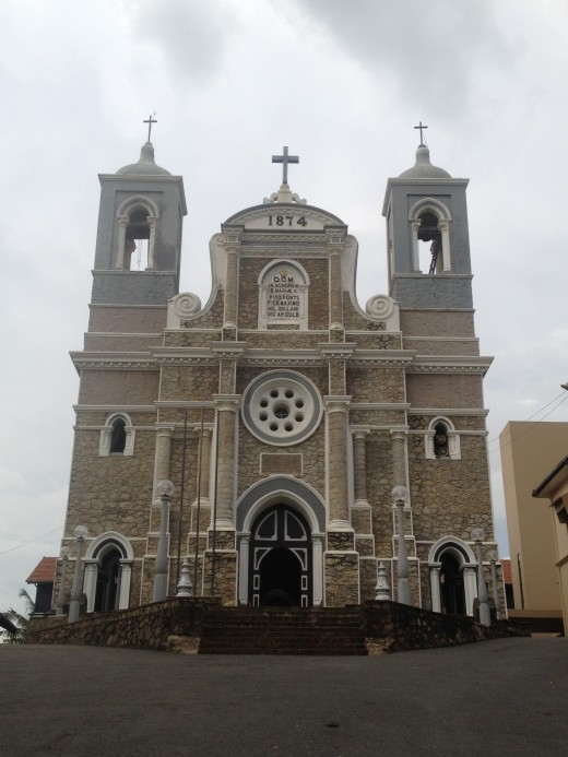 St. Mary's Cathedral, Galle is one of the important landmark