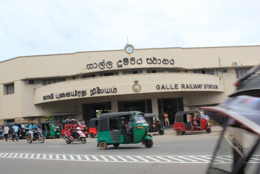 Galle Railway Station