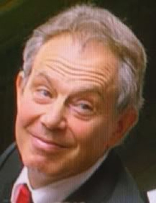 Ex - Prime Minister Blair:  In Charge Of The UK While The UK Was In Iraq.